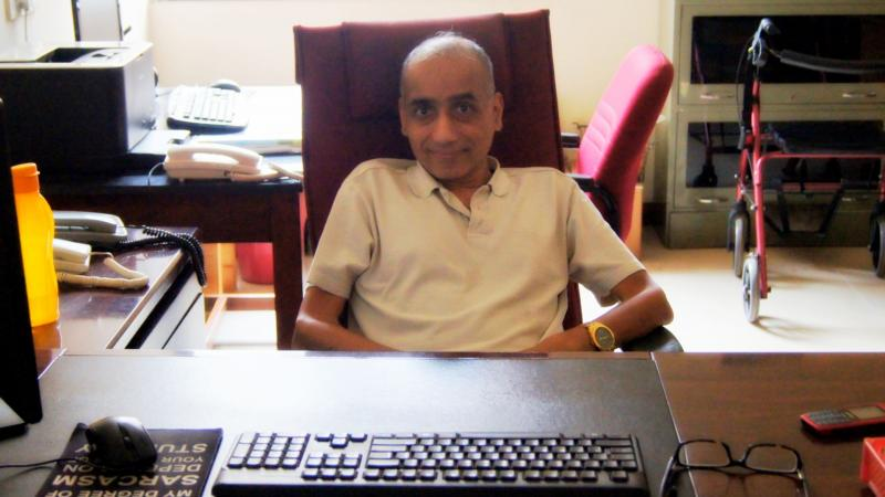 Prof. Vasant Natarajan, Dept. of Physics, IISc