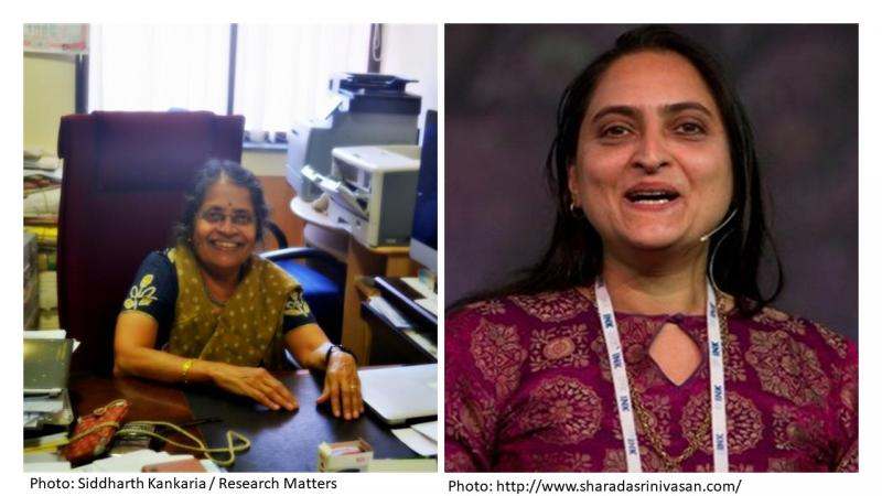 Two Bengaluru scientists shine on the list of 2019 Padma awardees - Prof Rohini Godbole from IISc and Prof. Sharada Srinivasan from NIAS