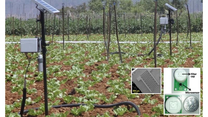 Better Soil Moisture Sensors using Graphene Oxide