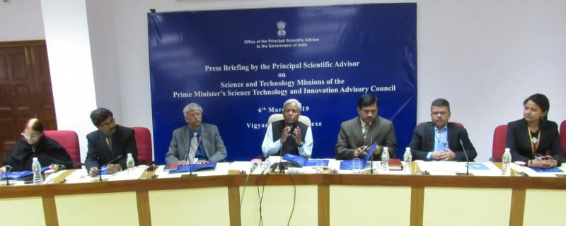 Principal Scientific Adviser details nine new science and technology missions for the country